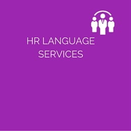 HR LANGUAGE SERVICES